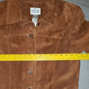 Style & Co Jackets & Coats - Style and Co size S leather jacket